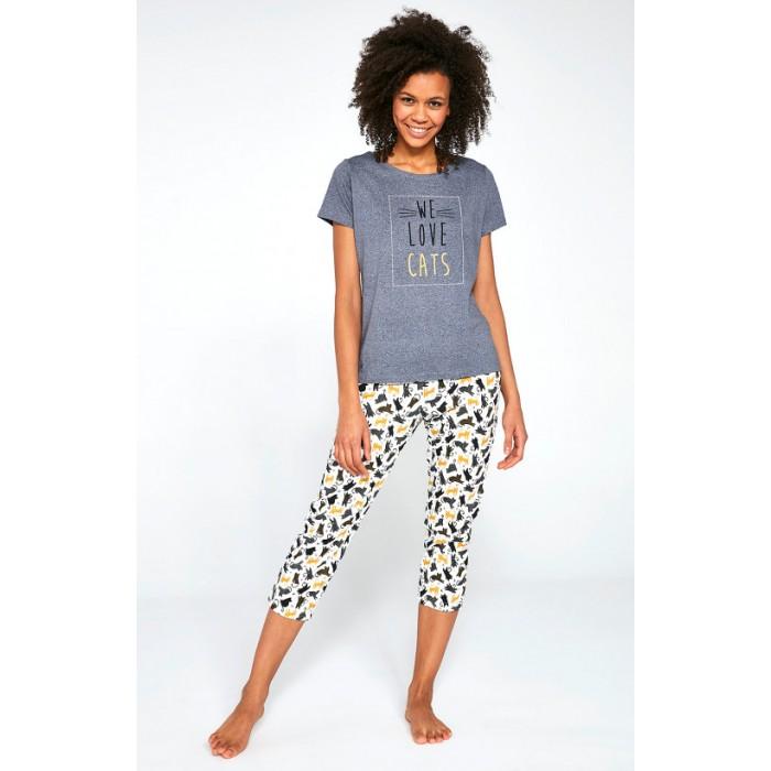 497/196 LOVE CATS pižama moteriška