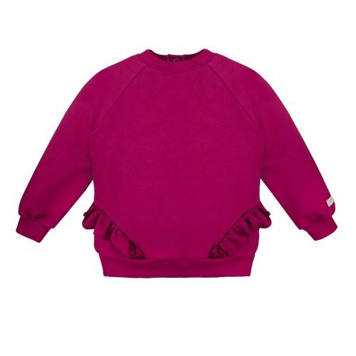 SIMPLY COMFY  marškinėliai bordo