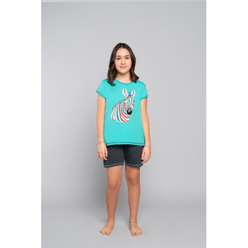 AFRYKA pižama mergaitiška (turkio)