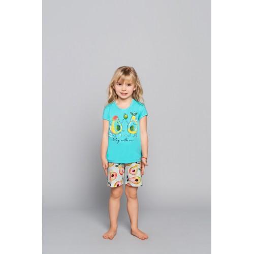 AVOCADO pižama mergaitiška (turkio)