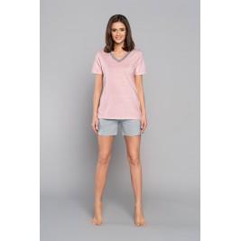 DALIA pižama su šortukais (rožinė)