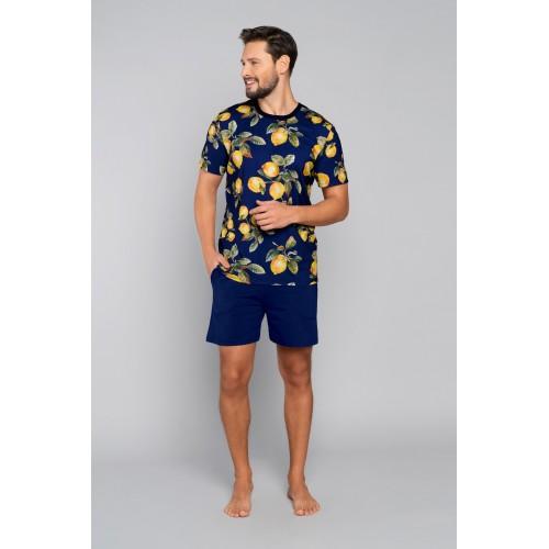 LEMON pižama su šortais vyriška