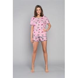 ORSO pižama su šortukais (rožinė)
