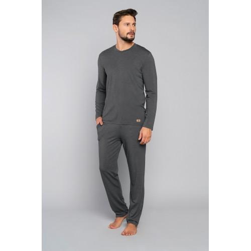TURYN pižama ilga (pilka)