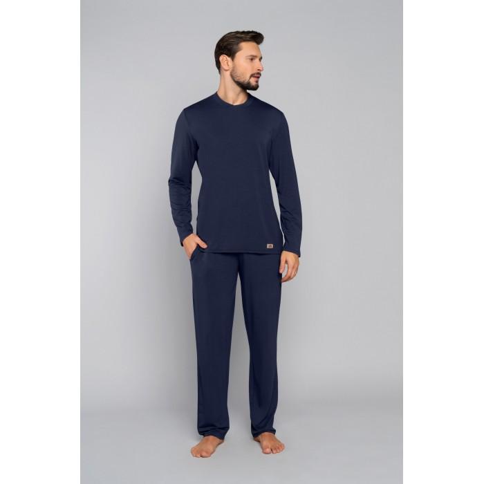 TURYN pižama ilga (mėlyna)
